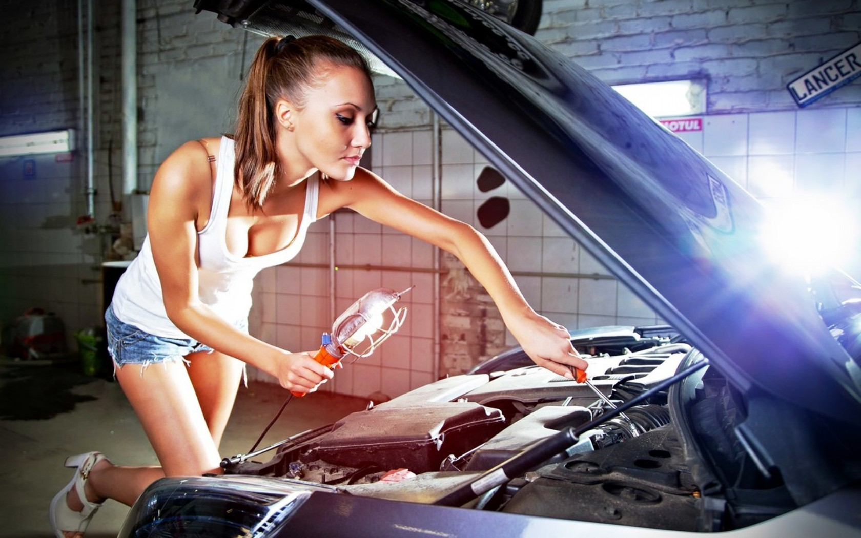 girl mechanic